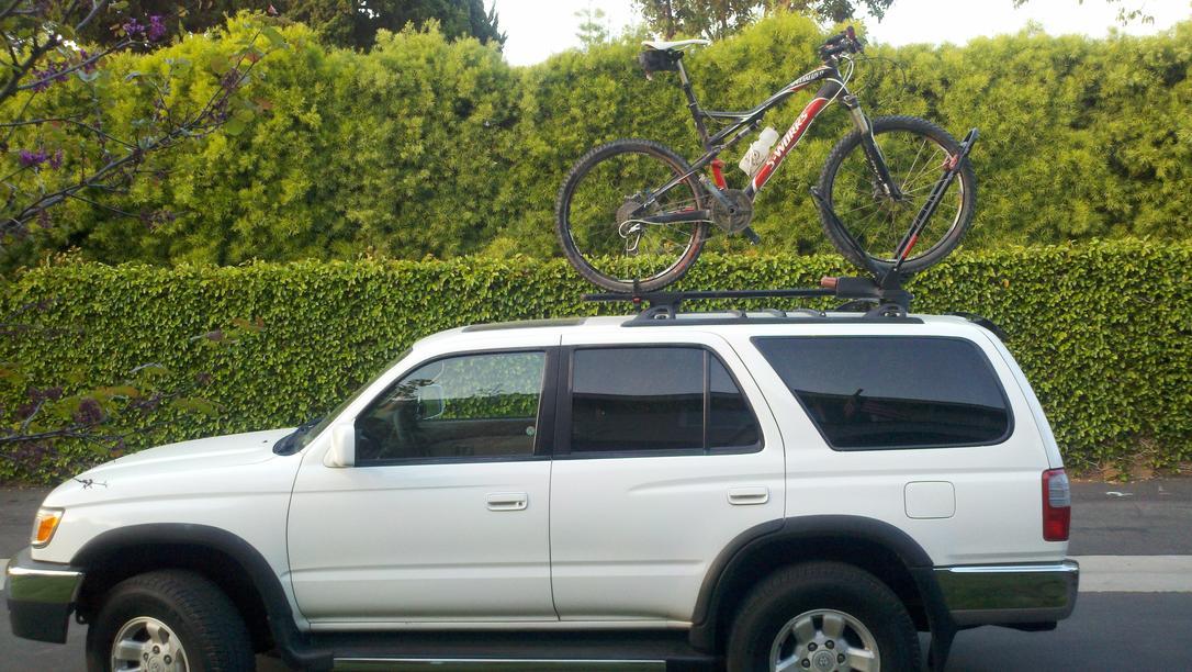 bike rack options toyota 4runner