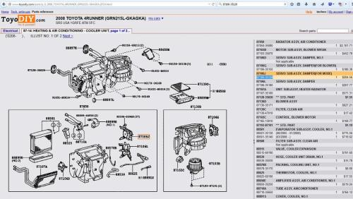 small resolution of  buzzing from air conditioner toyota 4runner 2003 4runner wiring diagram 2003 4runner ac diagram