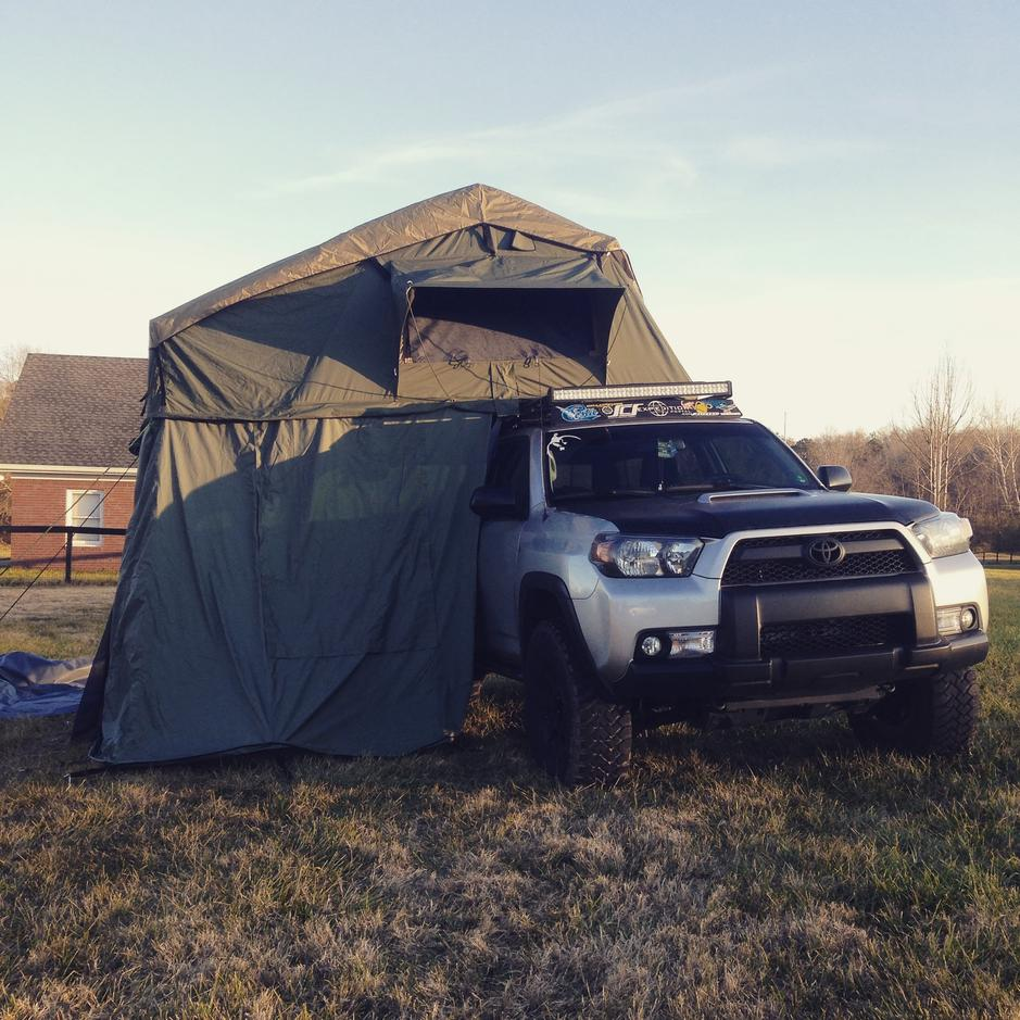 roof top tents mounting toyota