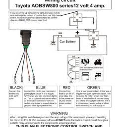 factory style fog light switch fits knock out aob  [ 768 x 1086 Pixel ]