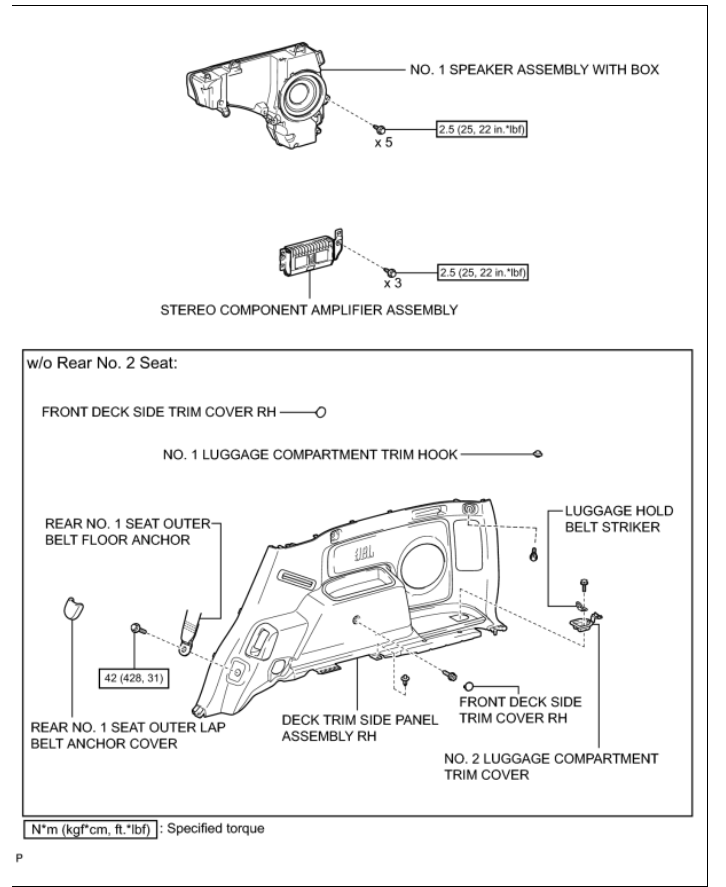 Toyota 4runner Speaker Wire 2003 Jbl Diagram : 44 Wiring