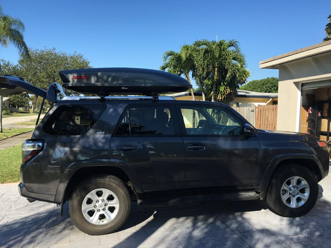 Utility Storage on Roof Rack