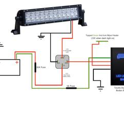 Led Trailer Lights Wiring Diagram 2002 Ez Go Txt Thread Light Bar Harness Schematic Install On A 2014 T4r Page 15 Toyota 4runner Forum