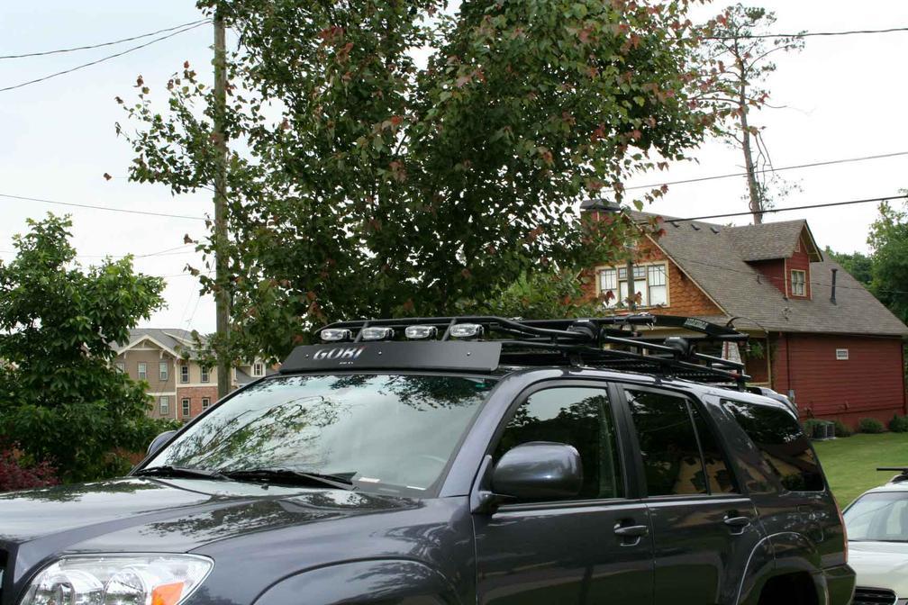 transfer gobi roof rack to 5th gen