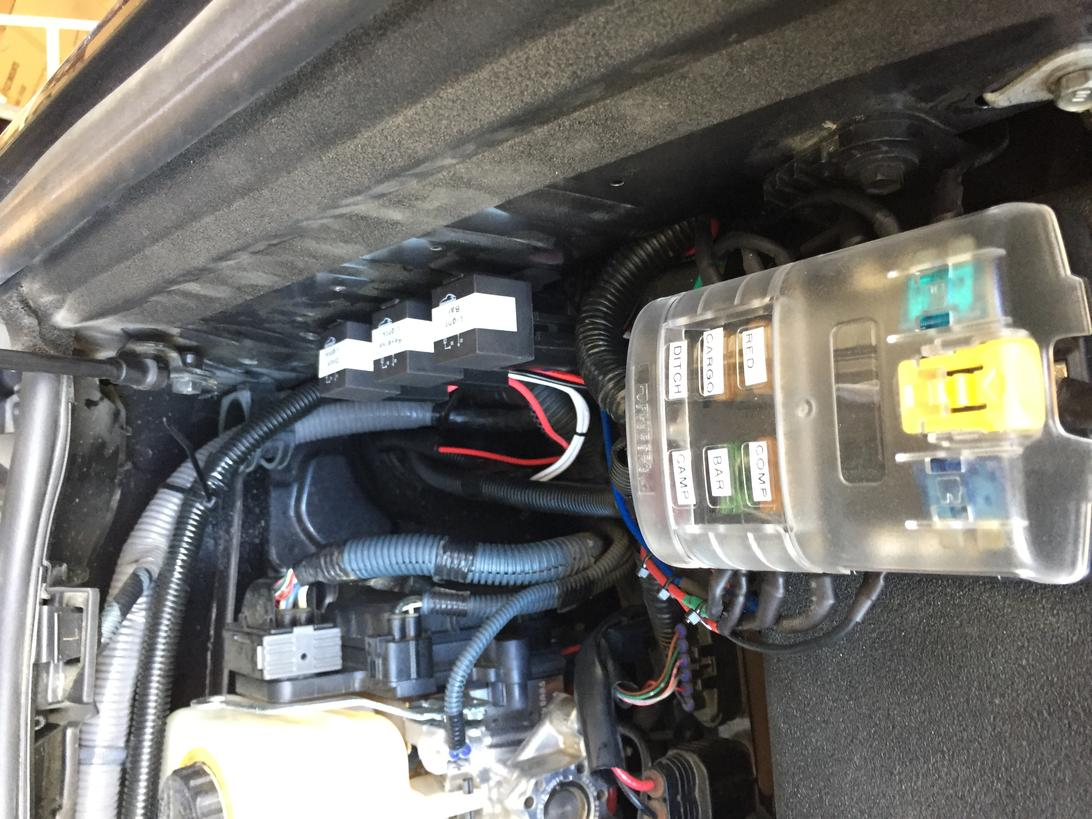 hight resolution of mounting acc fuse box on top of fuse box toyota 4runner forum