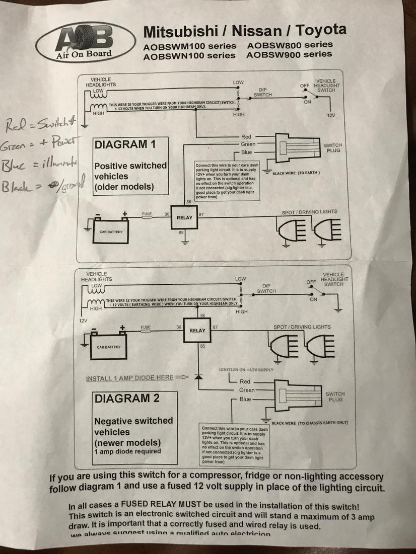 medium resolution of arb compressor aob switch install page 2 toyota 4runner forum arb twin compressor wiring diagram