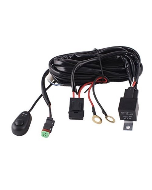 small resolution of 2010 2018 toyota 4runner low profile ditch light brackets wiring harness jpg
