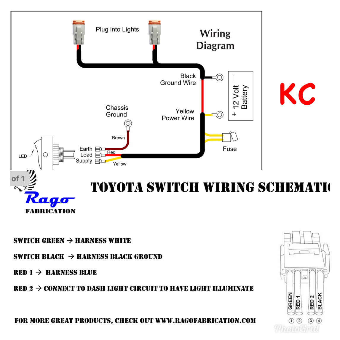 hight resolution of lights switch wiring also led light wiring diagram further kc light kc headlight wiring diagram rago