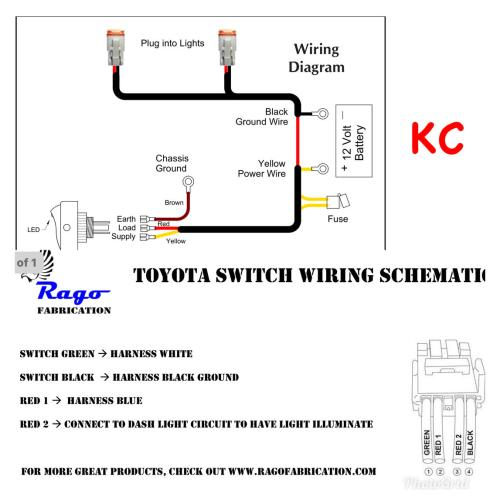 small resolution of lights switch wiring also led light wiring diagram further kc light kc headlight wiring diagram rago