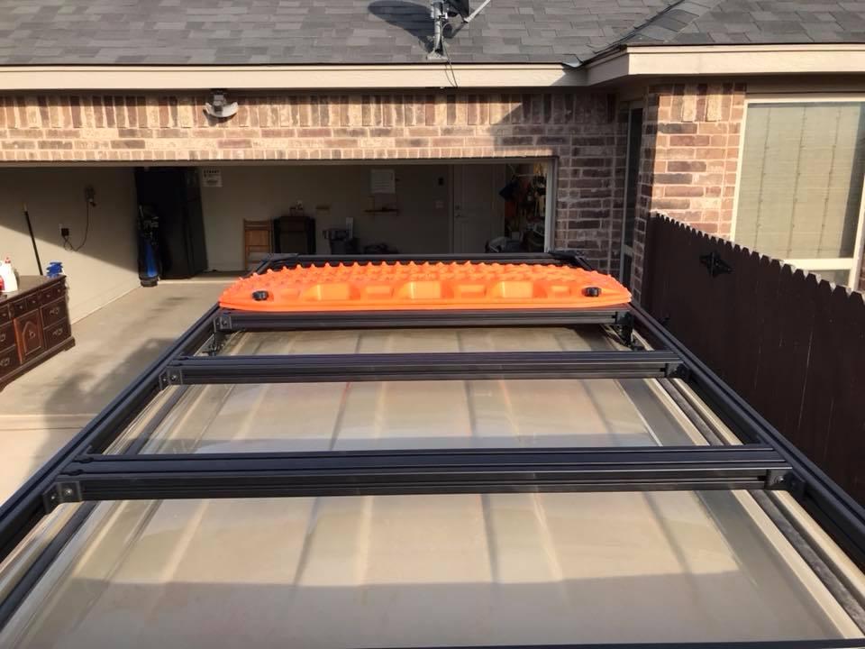 80 20 roof rack