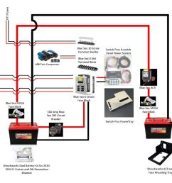 best dual battery setup for a 5th gen 4runner t4r dual wiring  [ 1364 x 1054 Pixel ]