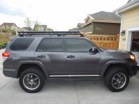 Toyota 4runner factory roof luggage rack