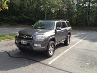 Toyota 4runner roof rack cover
