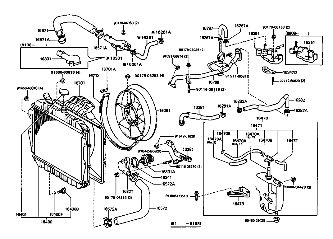 Toyotum 3vze Engine Diagram 1995 4runner