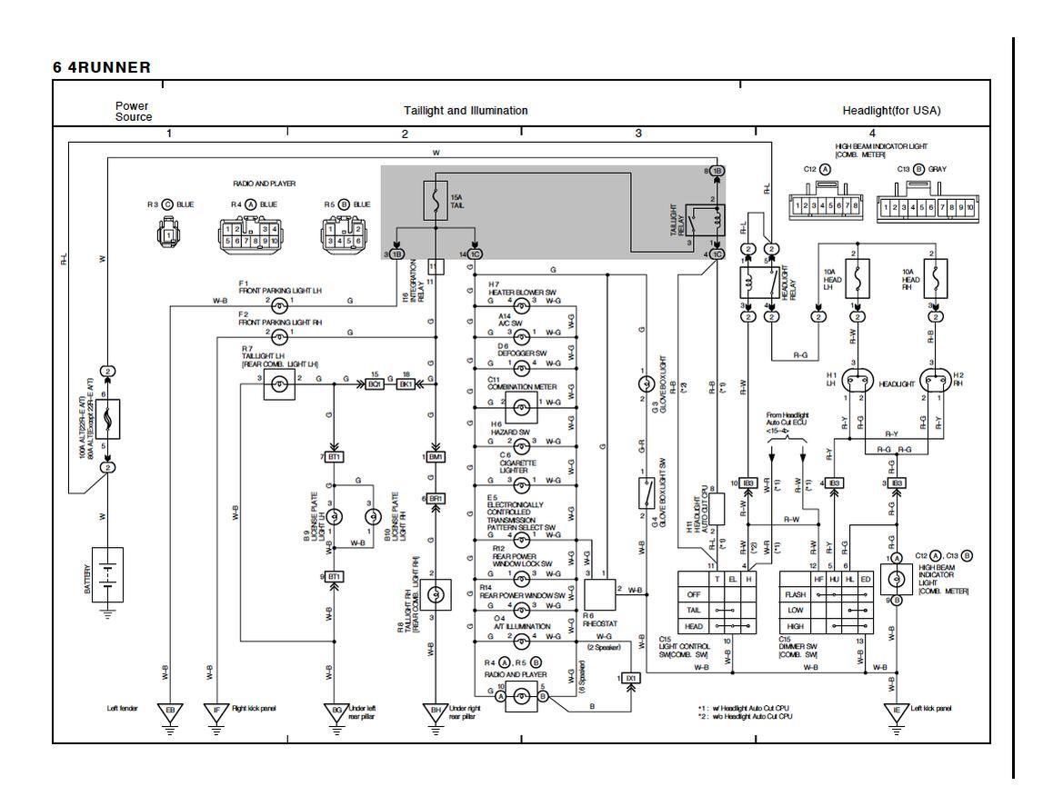 toyota mark x user wiring diagram english