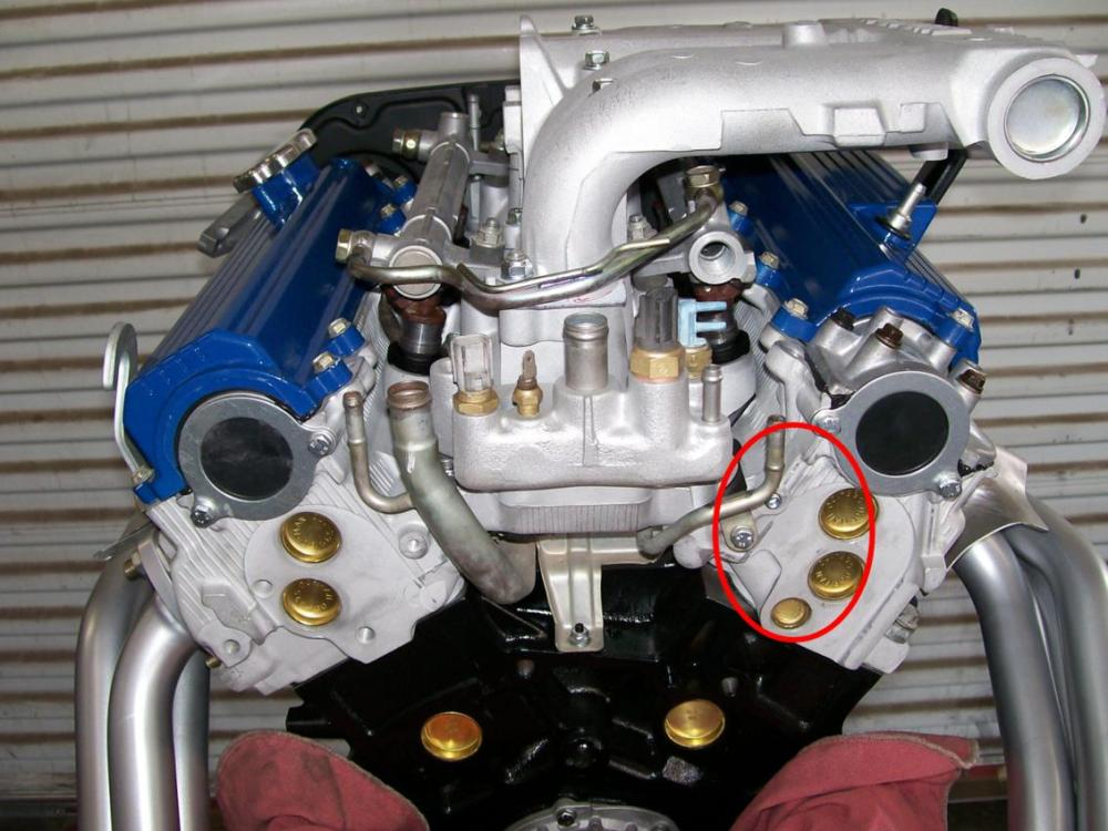 medium resolution of rear coolant leak not rear coolant bypass block toyota 4runner toyota 3 0 v6 engine diagram