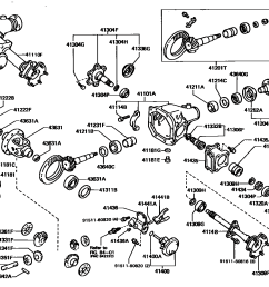 toyota front axle diagram we wiring diagram2003 toyota tacoma front differential diagram wiring diagram data toyota [ 1584 x 1108 Pixel ]