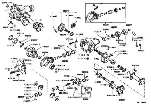 small resolution of toyota front axle diagram we wiring diagram2003 toyota tacoma front differential diagram wiring diagram data toyota