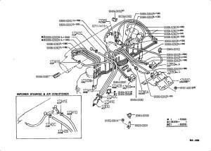 1995 Toyota 4runner vacuum diagram