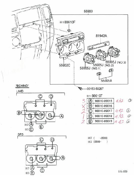 1996 Toyota T100 Fuse Panel. Toyota. Auto Fuse Box Diagram