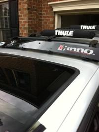 Inno Roof Rack Fairing- Factory Rack Compatible - Toyota ...