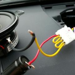 Parallel Wiring Diagram Speakers For Kenwood Kdc 152 2015 Dash Speaker Upgrade -- Simple Solution (non-jbl With Nav) - Toyota 4runner Forum Largest ...
