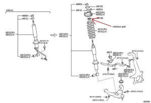 4runner Front Suspension Diagram | WIRING DIAGRAM