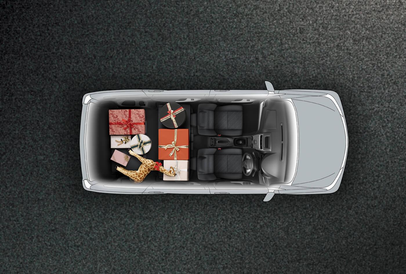 console box grand new avanza 2016 tipe g interior top view