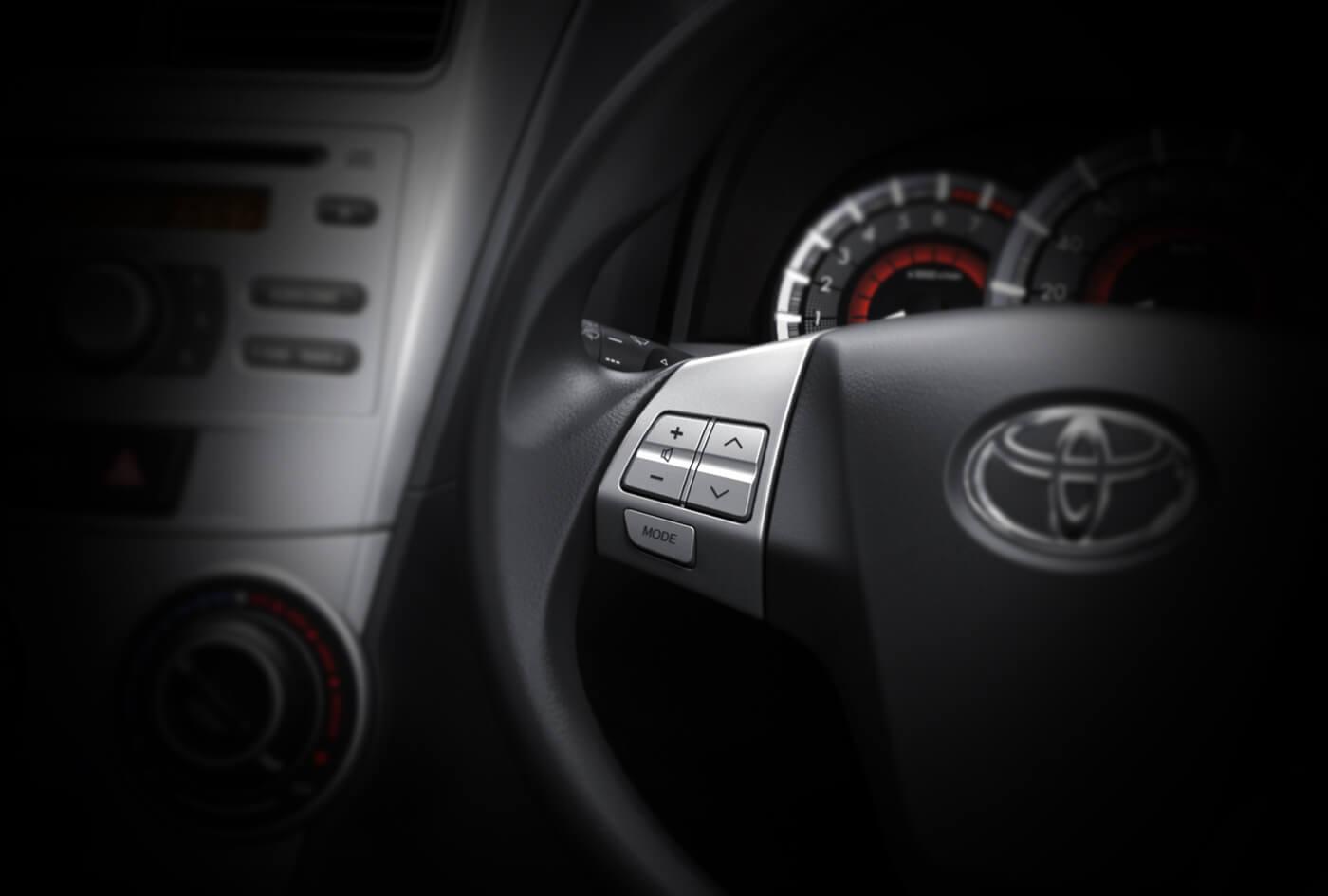 grand new avanza nebula blue kijang innova luxury captain seat steering switches