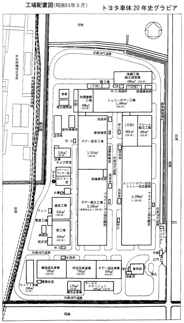 トヨタ企業サイト|トヨタ自動車75年史|第1部 第2章 第4節|第1項 自動車部組立工場の建設―段階的な生産能力の拡大
