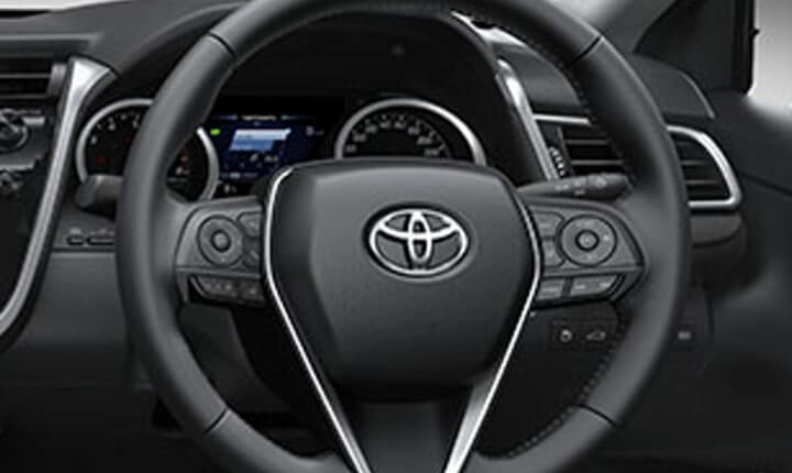 all new camry singapore mobil kijang innova toyota 2019 sleek and luxurious sedan direct mounted steering system engine