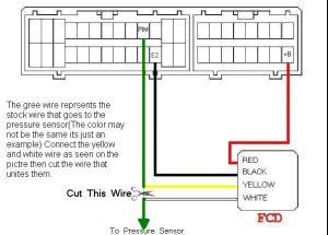 HKS FCD wiring on YRV Turbo | Daihatsu Drivers Club UK