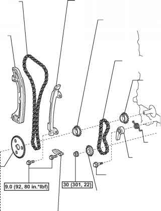 Where To Fasten Chains To Pull 2000 Corolla Engine