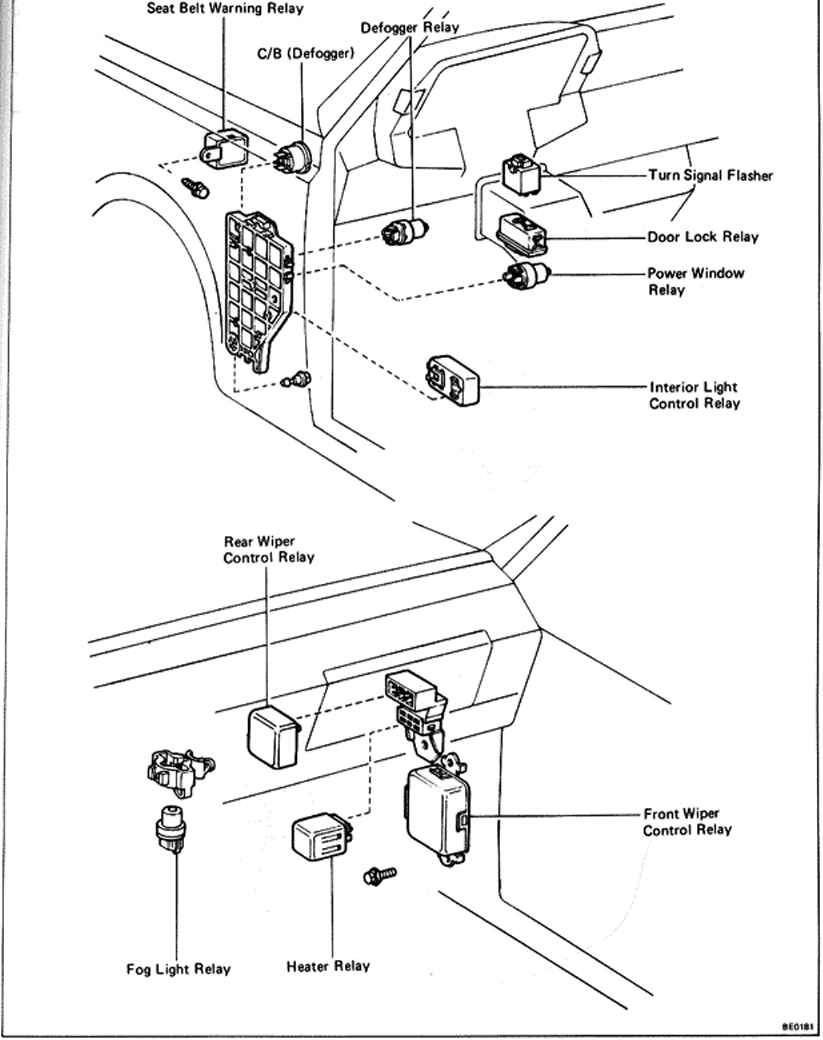 2000 Toyota Rav4 Fuse Box Diagram