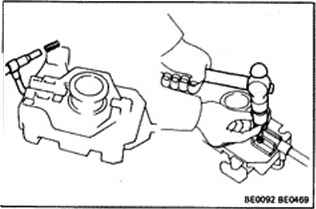 Inspection Of Light Control Switch And Headlight Dimmer