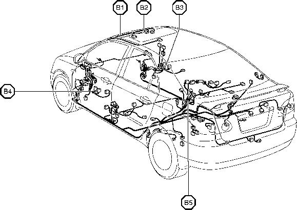 2004 Toyota Corolla Fuel Pump Relay Location