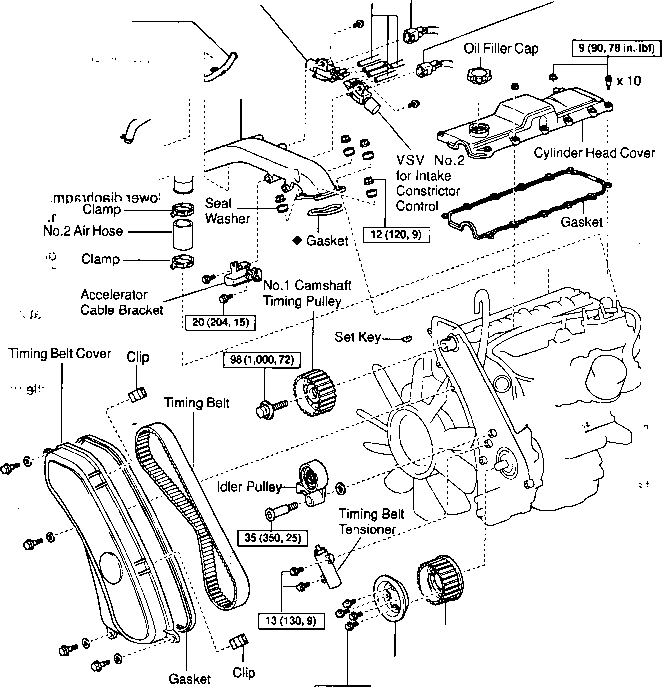Toyota 2 7 Engine Diagram 2002 Hyundai Sonata 2 4 Engine