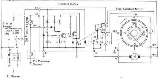 circuit diagram motor control
