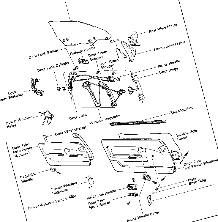 1989 mustang wiring diagram for headlights