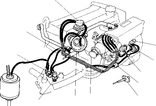 1991 Mr2 Vacuum Diagram 1990 Toyota Corolla 4AFE Engine