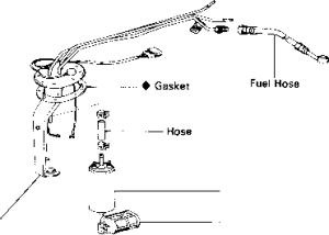 Check Fuel Pressure  Toyota MR2 MK1 1989 AW11 Repair
