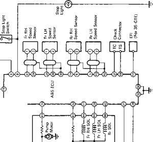 Wiring Diagram  Toyota MR2 MK2 1991 SW20 Repair  Toyota