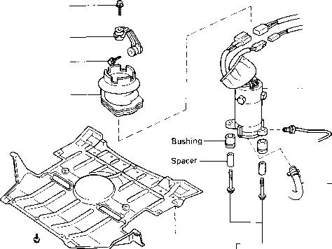 2001 Toyota Celica Engine Cover 1982 Toyota Celica Engine