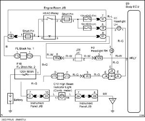Wiring Diagram  Toyota Prius 2003 Repair  Toyota Service