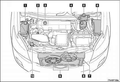 2007 Toyota Prius Engine Diagram. Toyota. Auto Parts