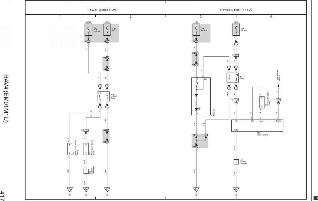 Toyota Rav 4 Radio Wiring Diagram. Toyota. Auto Wiring Diagram