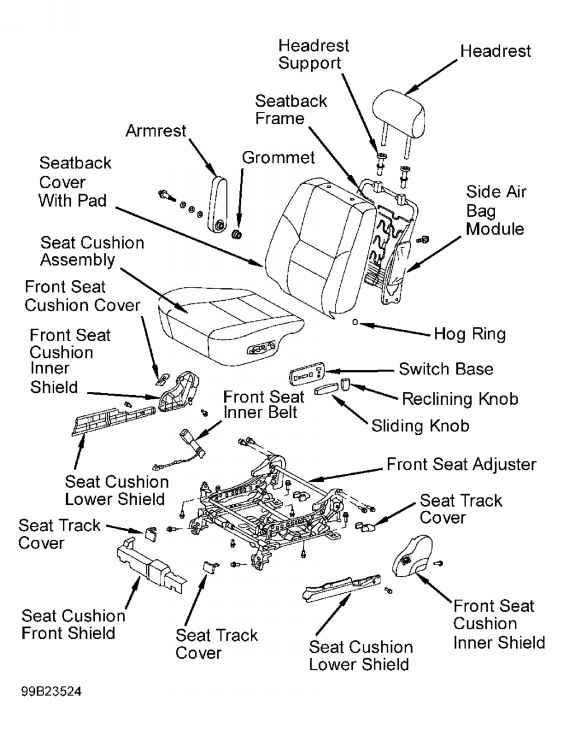 Toyota Power Seat Wiring Diagram • Wiring Diagram For Free