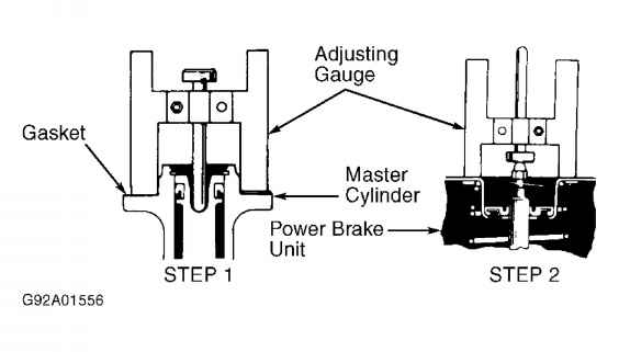 Power Brake Unit Push Rod Except Land Cruiser Runner