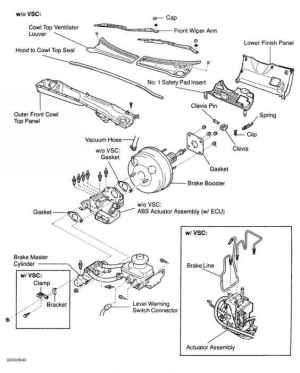 Power Brake Unit  Toyota Sequoia 2001 Repair  Toyota Service Blog