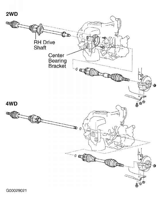 Toyota Highlander Front Differential Diagram